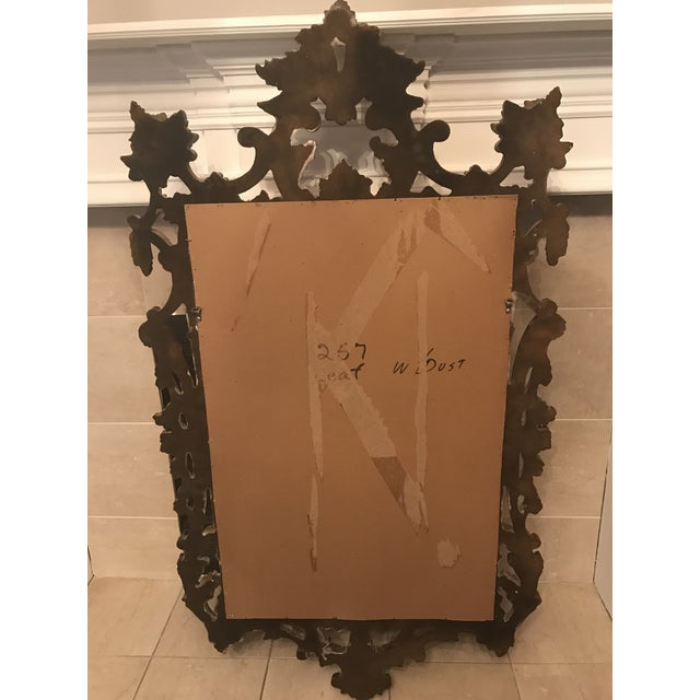 4efe5cd6a10a8 Vintage French Provincial Gold Leaf Mirror For Sale In Dallas - Image 6 of 8
