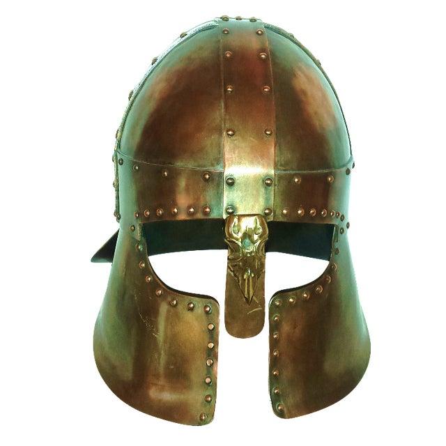 Medieval Brass & Copper Helmet - Image 1 of 7