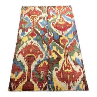 "Bellwether Rugs ""Yuri"" Ikat Rug - 5'3""x8'2"" For Sale"