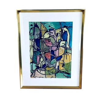 """""""The Maze"""" Mixed Media Painting by Therese Asia For Sale"""