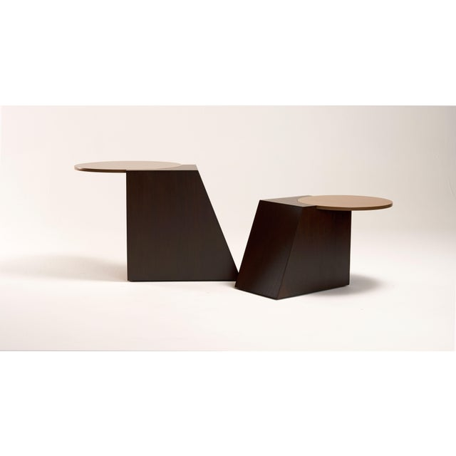 V Tables by Jason Mizrahi - a Pair For Sale In Los Angeles - Image 6 of 6