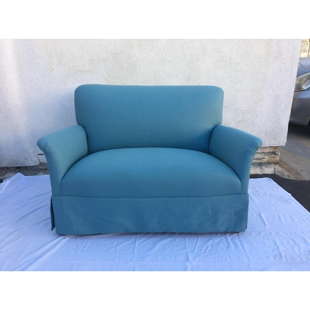 Mid-Century Modern 1930s Settee For Sale - Image 3 of 8