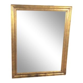 Gilded Wood Framed Mirror