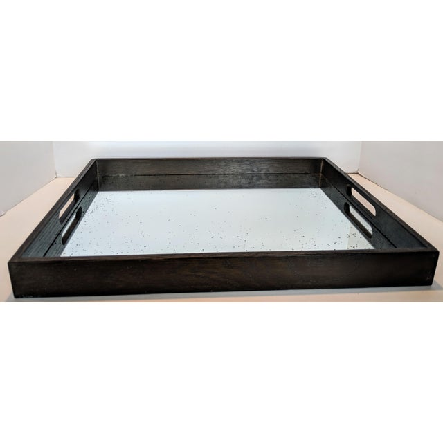 Notre Monde Antiqued Mirrored Tray For Sale - Image 12 of 13