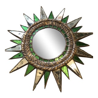Starburst Mirror in the Manner of Line Vautrin For Sale