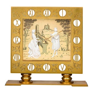 Gübelin Ormolu Mantel Clock