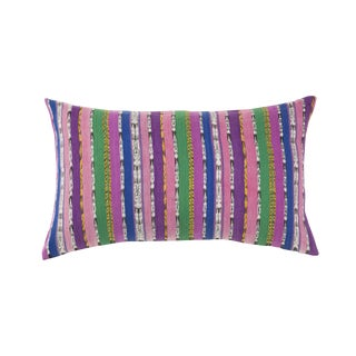 Vintage Purple & Pink Guatemalan Pillow