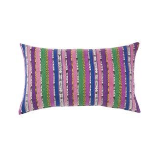 Vintage Purple & Pink Guatemalan Pillow
