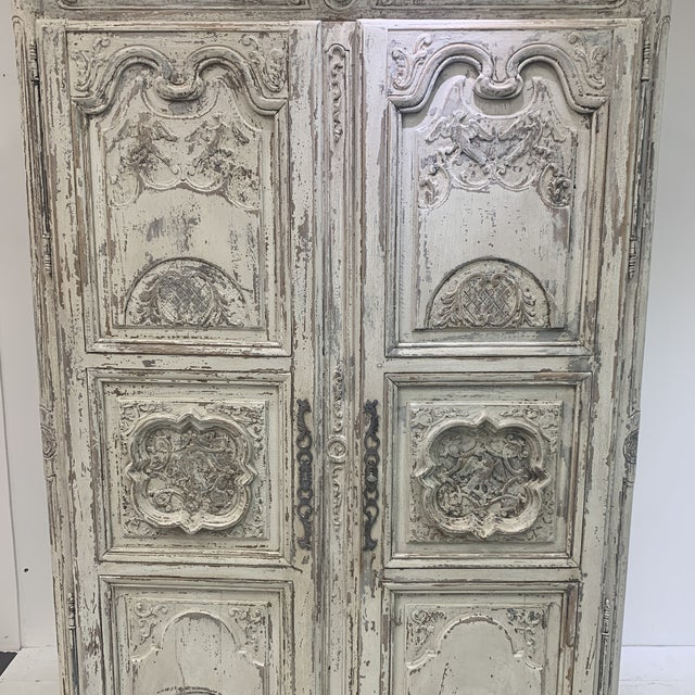 Spanish Early 19th Century Antique French Armoire For Sale - Image 3 of 11