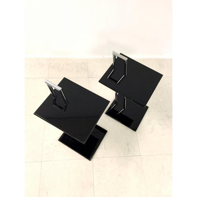 Vintage Eileen Gray Occasional Table - Pair - Image 6 of 7