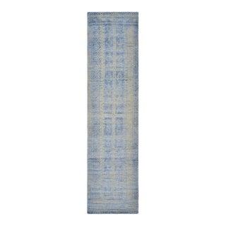 Sazan, Handmade Runner Rug - 2' 6 x 10 For Sale