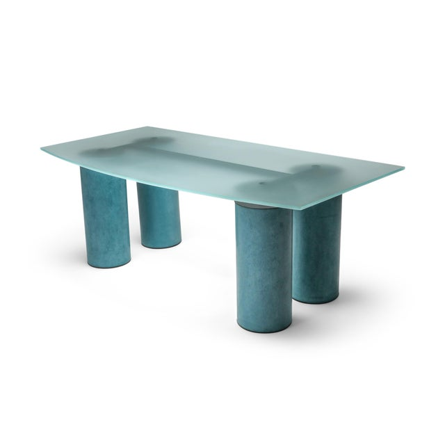 1970s Massimo Vignelli 'Serenissimo' Dining Table/Desk for Acerbis For Sale - Image 13 of 13