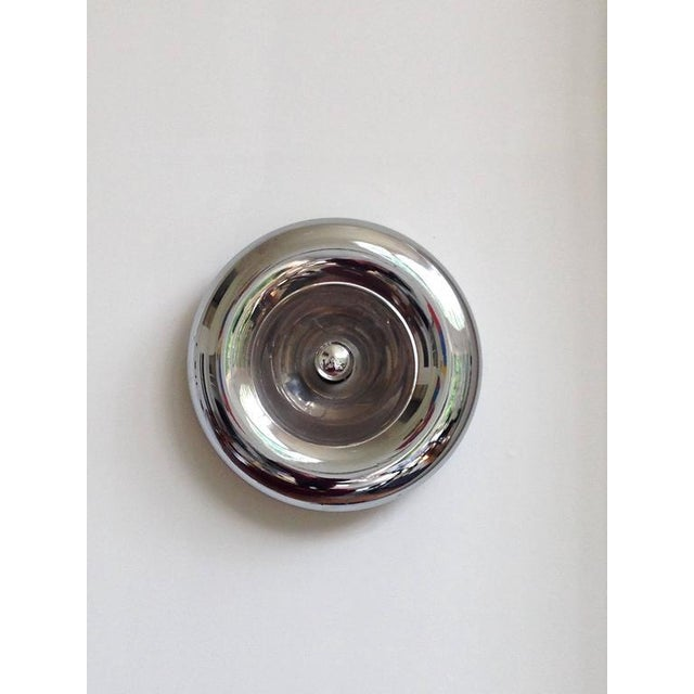 Sciolari Style Polished Chrome Sconce - Image 2 of 4