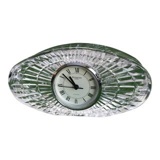 Waterford Crystal Table Clock For Sale