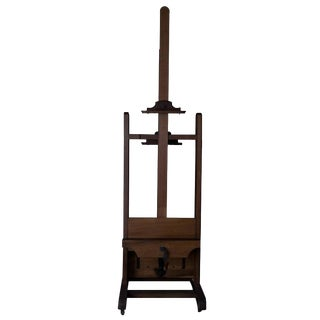 Antique Two-Sided Easel