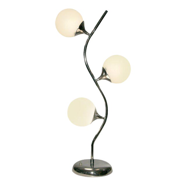 Vine-Like Table Lamp in the Manner of Robert Sonneman For Sale