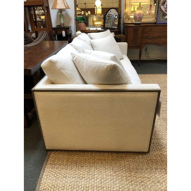 Rene Cazares Furniture Woody Upholstered Sofa For Sale - Image 4 of 13