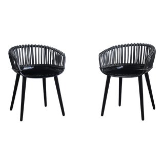 Black Magis Cyborg Chairs - A Pair