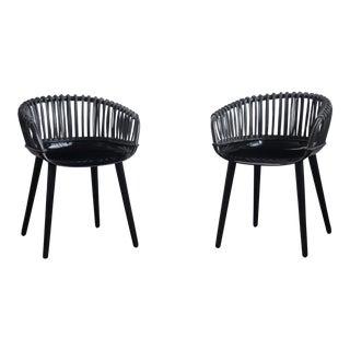 Black Magis Cyborg Chairs - A Pair For Sale