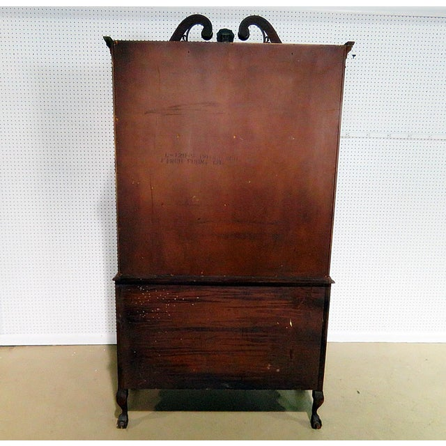 Georgian Style China Cabinet For Sale - Image 9 of 13