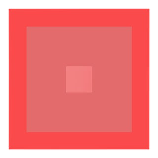 """Color Study #18"" Geometric Unframed Print For Sale"