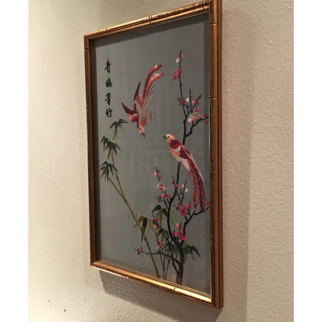 Asian Vintage Chinese Suzhou Embroidery For Sale - Image 3 of 7