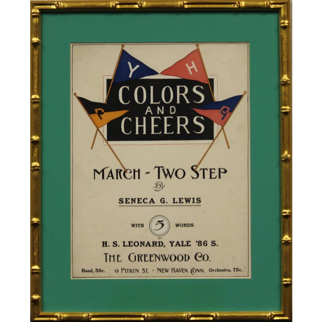 1898 Colors and Cheers Poster - Image 1 of 4