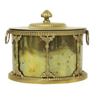 Mottahedeh Brass Tea Caddy