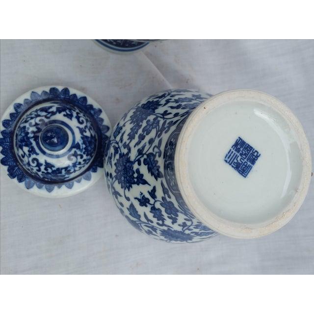 Orientalist Ginger Jars - A Pair - Image 5 of 5