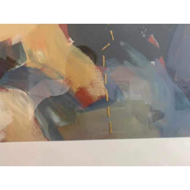 Susan Durfee Thulin 'The Dance' Large Framed Painting For Sale - Image 10 of 13