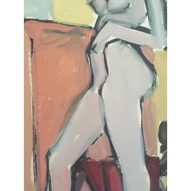 1940s-50s Bay Area Figurative Female Nude - Image 7 of 7