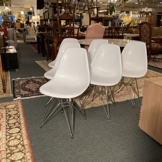 Modern Eames Style Eiffel Base Shell Chairs - Set of 6 Preview