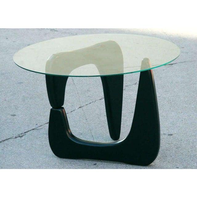 Noguchi Style Black Lacquer Side Table Chairish - Isamu noguchi style coffee table