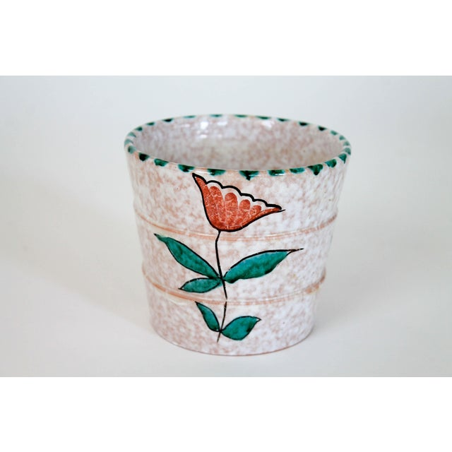 Mid 20th Century Small Italian Pottery Planter For Sale - Image 5 of 5