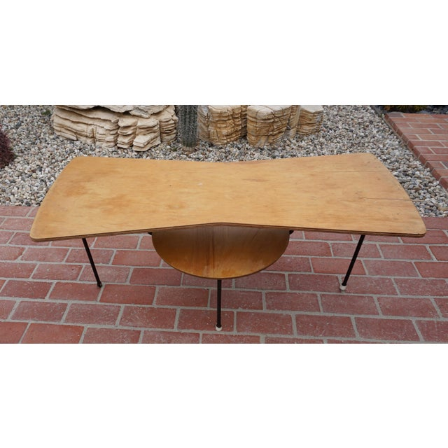 Brown Prototype Coffee Table by Mario Dal Fabbro For Sale - Image 8 of 9