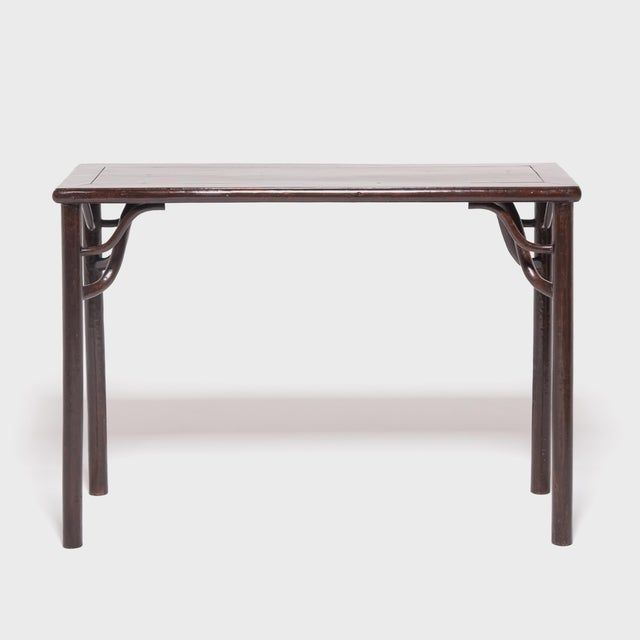 Asian 19th Century Chinese Literati Wine Table For Sale - Image 3 of 7