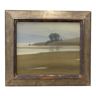 "Sarah Vedder ""Tomales Bay"" Original Oil Painting C.2000 For Sale"