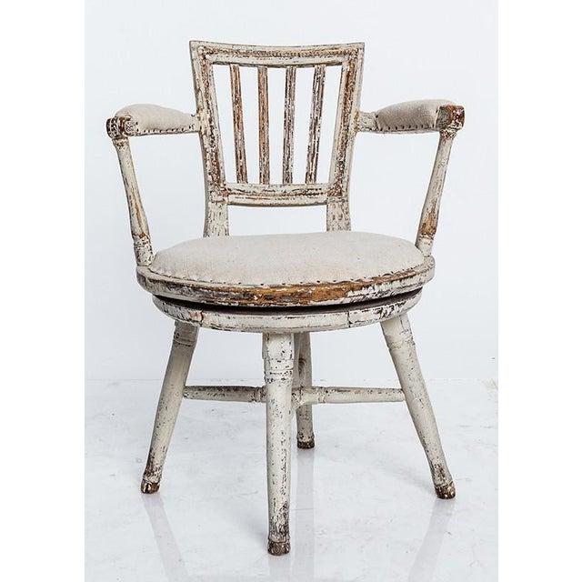 Swedish Swivel Chair - Image 3 of 5