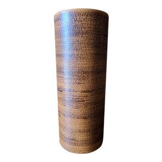Mid Century Art Pottery Tall Vase by Haeger