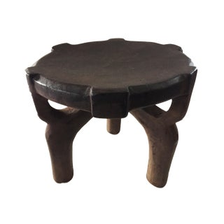 """African Old Milk Stool Hehe Gogo People Tanzania 10"""" H For Sale"""