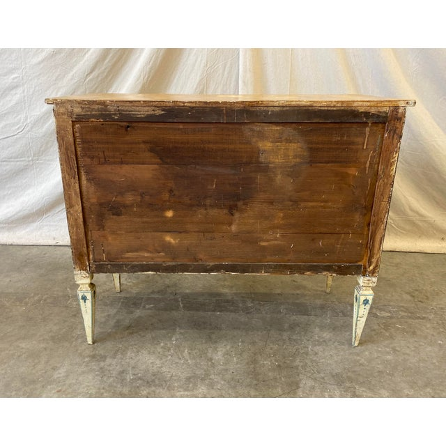 Italian Commode With Hand Painted Designs - 19th C For Sale - Image 10 of 12