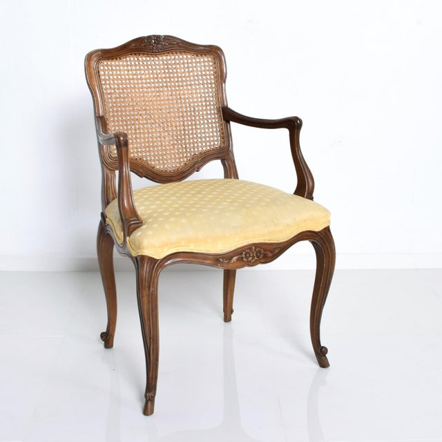 Wood Hollywood Regency Arm Chairs by Kindel - a Pair For Sale - Image 7 of 11