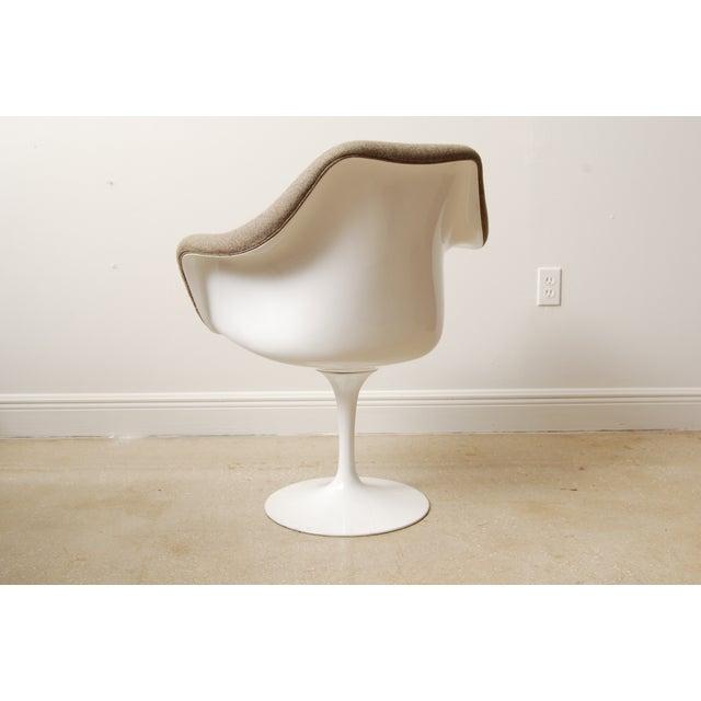 1970s Mid-Century Eero Saarinen Style Tulip Chairs - Set of 4 For Sale - Image 5 of 6