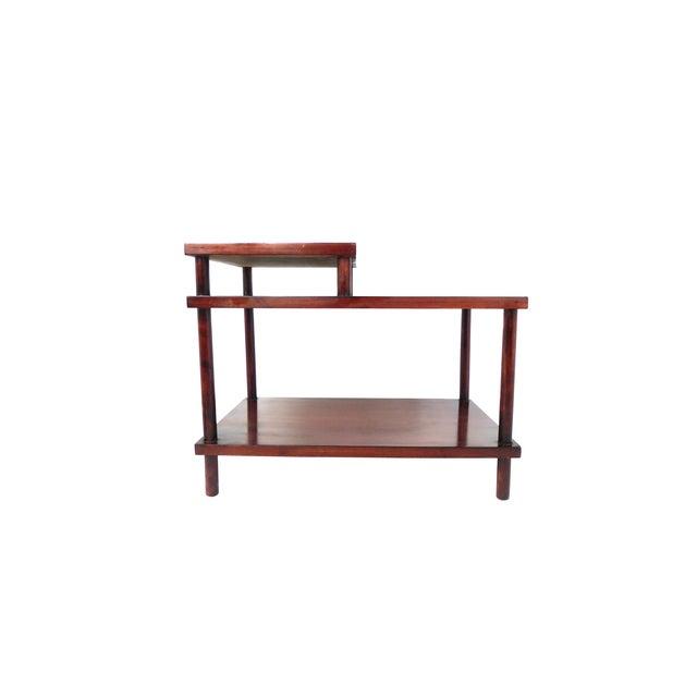 Mid-Century Modern Robsjohn-Gibbings Tiered Side Table for Widdicomb For Sale - Image 3 of 10