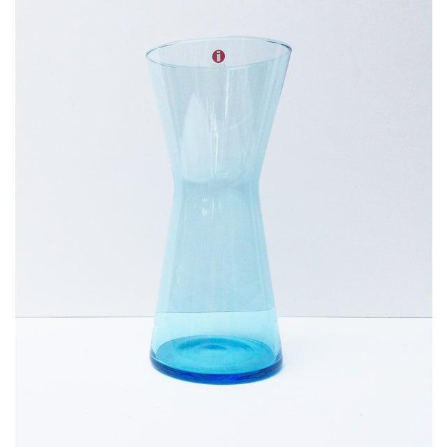 Iittala Blue Vase - Image 2 of 5