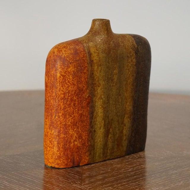 Mid-Century Modern Marcello Fantoni Wide Should Vase For Sale - Image 3 of 9