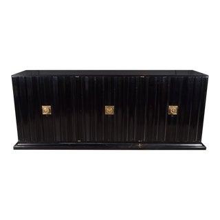 Mid-Century Modern Sideboard by Tommi Parzinger in Ebonized Walnut For Sale