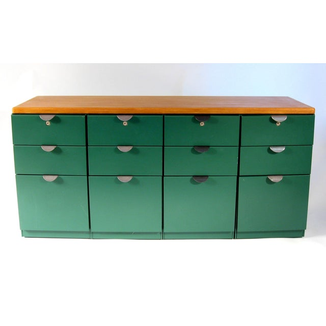 Haworth File Cabinets - Set of 4 - Image 2 of 11