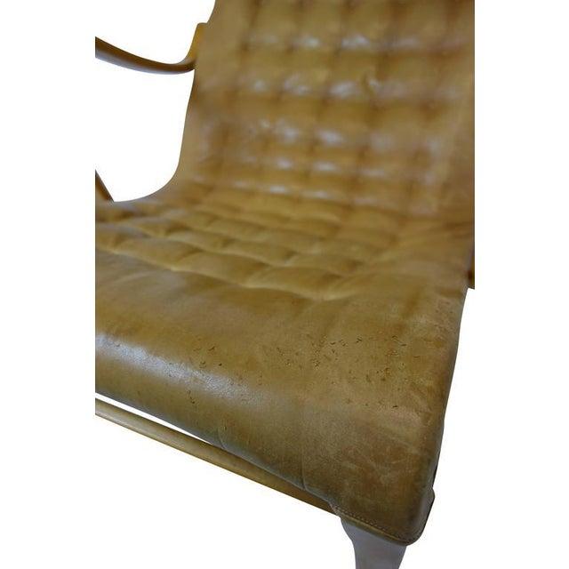 Wood Bruno Mathsson Miranda Lounge Chair For Sale - Image 7 of 10