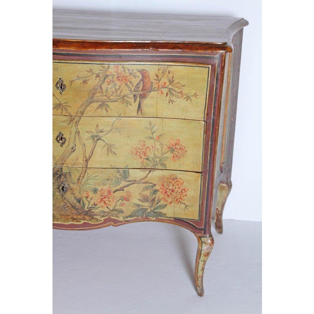 Neoclassical 18th Century Italian Painted Commode For Sale - Image 3 of 13